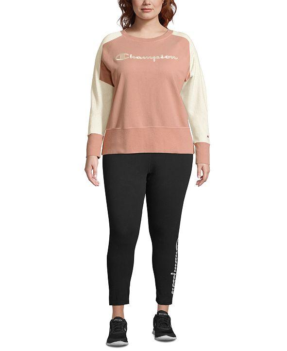 Champion Plus Size Heritage Herringbone Sweatshirt