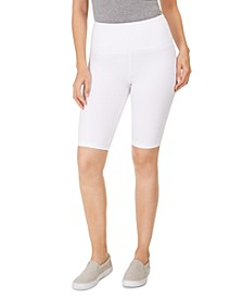 Yoga Bike Shorts, Created For Macy's