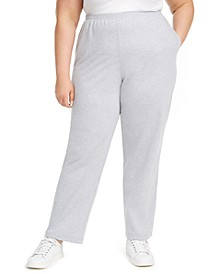 Plus Size All About Ease French Terry Pants