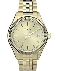 Women's Automatic Waterbury Gold-Tone  Stainless Steel Bracelet Watch 34mm