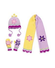 Big Girl Lotus Knitwear Set
