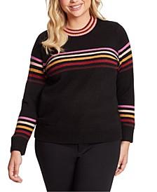 Plus Size Rai Stripe Sweater