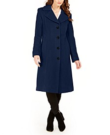 Single-Breasted Midi Coat, Created For Macy's