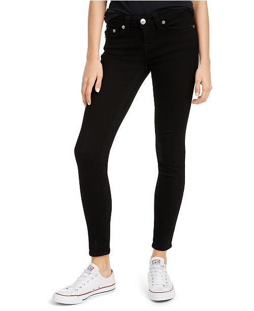 True Religion Halle Mid-Rise Skinny Jeans