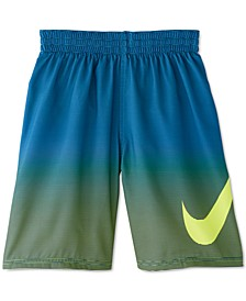 Big Boys 1-Pc. Color Fade Breaker Volley Swim Trunks