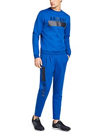 A|X Men's Logo Sweatshirt & Pleated Sweatpants