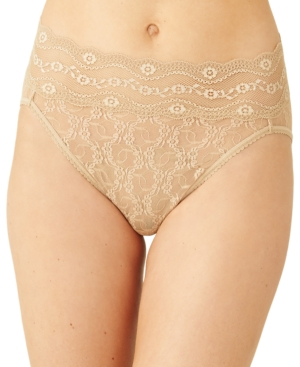 Women's Lace Kiss High-Leg Brief Underwear 978382