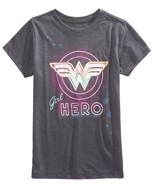 Wonder Woman Big Girls T-Shirt