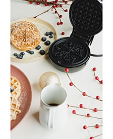 Mini-Waffle Maker Snowflake