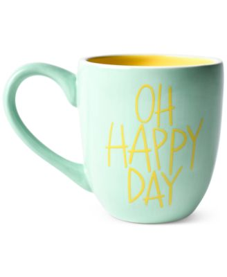 by Laura Johnson Mint Oh Happy Day Mug