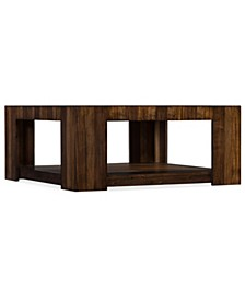 Across the Grain Rectangle Cocktail Table