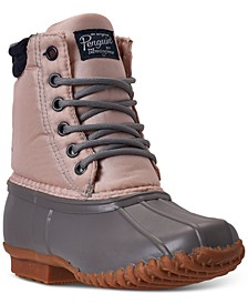 Little Girls Addison Duck Boots from Finish Line