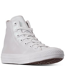 Women's Chuck Taylor All Star Iridescent High Top Casual Sneakers from Finish Line