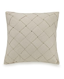 Basketweave 20 Square Decorative Pillow