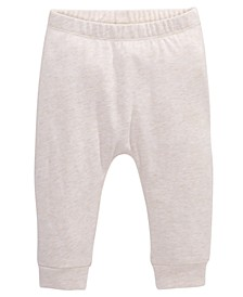 Baby Girls Heathered Jogger Pants, Created For Macy's