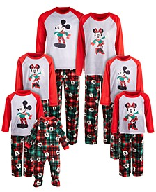 Family Mickey Mouse & Minnie Mouse Pajama Sets