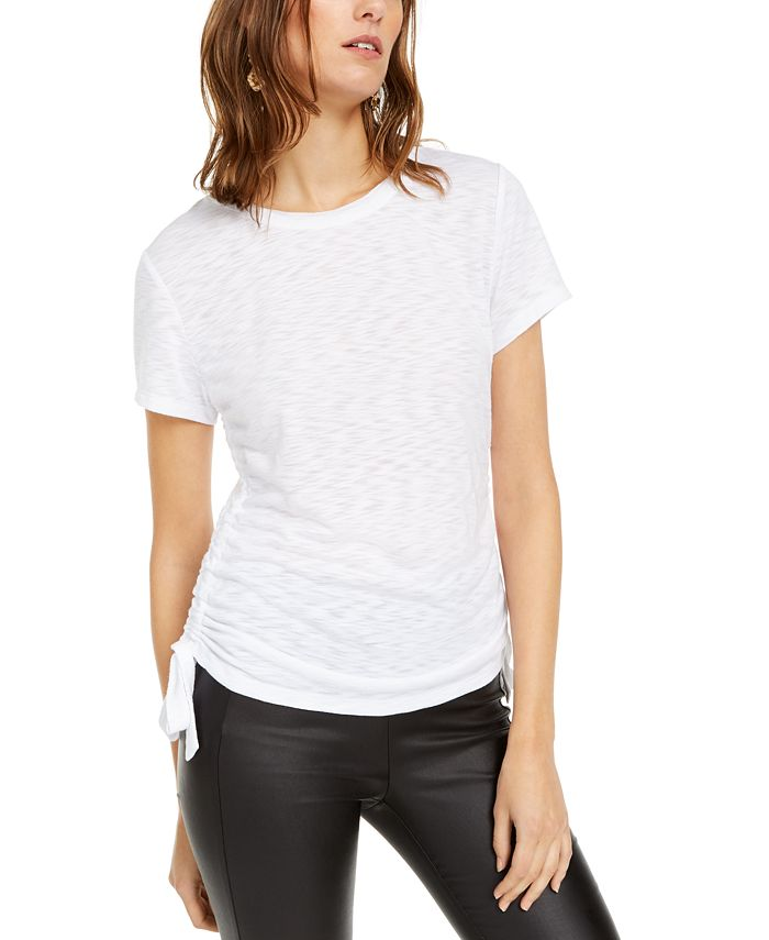 INC International Concepts - Double-Ruched Top