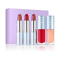 5-Piece Clinique Plenty Of Pop Set Holiday Lip Collection