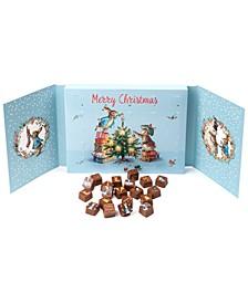 Merry Christmas Peter Rabbit Chocolate Advent Calendar