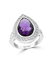 EFFY® Amethyst (6-1/2 ct. t.w.) Ring in Sterling Silver