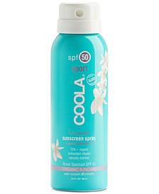 Classic Body Organic Sunscreen Spray SPF 50 - Travel Size