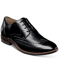 Nunn Bush Men's Fifth Ward Flex Wingtip Oxfords