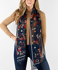 Heather Silk Oblong Scarf