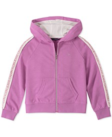 Big Girls Logo-Tape Hoodie