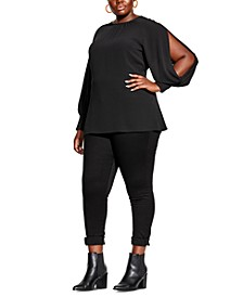 Trendy Plus Size Eclipse Top