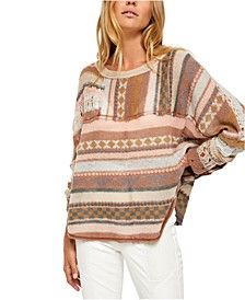 December Skies Poncho Sweater