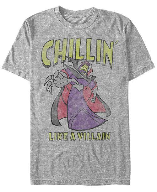 Disney Pixar Men's Toy Story Zurg Chillin like a Villain, Short Sleeve T-Shirt