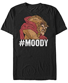 Men's Beauty the Beast Moody Grumpy, Short Sleeve T-Shirt
