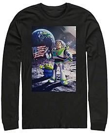 Men's Toy Story Buzz Moon Landing, Long Sleeve T-Shirt