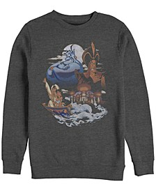 Men's Aladdin Winds of Agrabah Main Cast, Crewneck Fleece