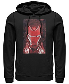 Men's Avengers Endgame Red Iron Man Poster, Pullover Hoodie