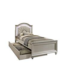 Brandan Pearl Twin Panel Bed