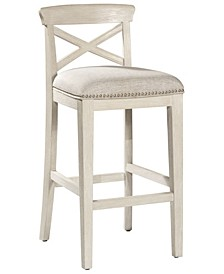 Furniture Bayview Non-Swivel Bar Height Stool Set of 2