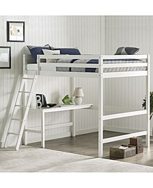 Furniture Caspian Full Loft Bed