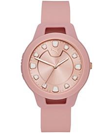 Women's Reset Silicone Strap Watch 36mm