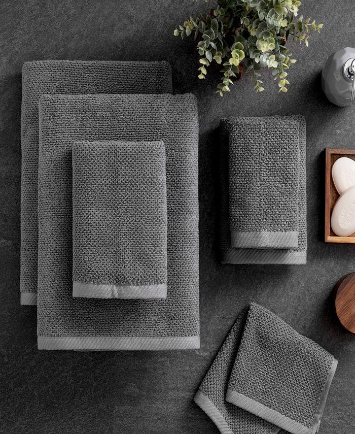 Welhome - Textured Franklin 6-Pc. Towel Set