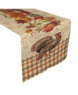 "Bountiful Harvest Table Runner 13"" x 72"""