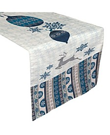 "Simply Winter Table Runner - 13""x 90"""