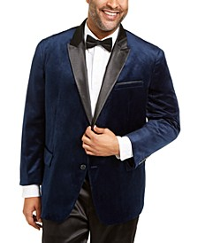 INC Men's Big & Tall Max Velvet Blazer, Created for Macy's