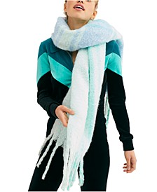 Gemini Plaid Blanket Scarf