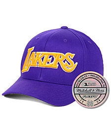 Mitchell & Ness Los Angeles Lakers HWC 110 Flexfit Snapback Cap