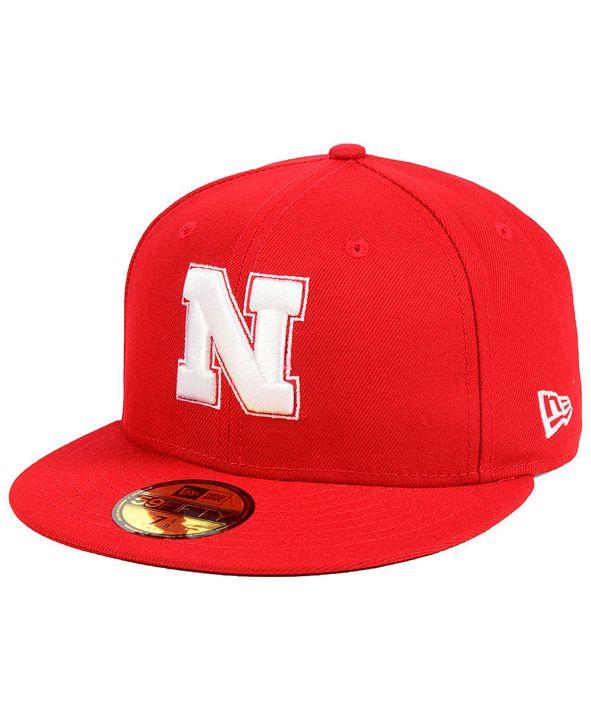 New Era Nebraska Cornhuskers AC 59FIFTY-FITTED Cap