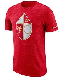 Men's San Francisco 49ers Marled Historic Logo T-Shirt