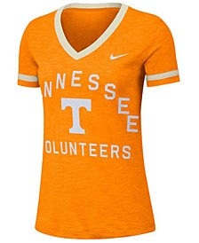 Women's Tennessee Volunteers Slub Fan V-Neck T-Shirt