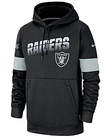 Men's Oakland Raiders Sideline Line of Scrimmage Therma-Fit Hoodie