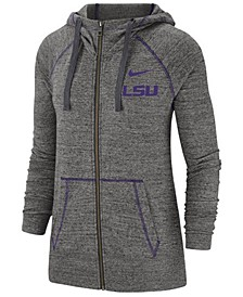 Women's LSU Tigers Gym Vintage Full-Zip Jacket